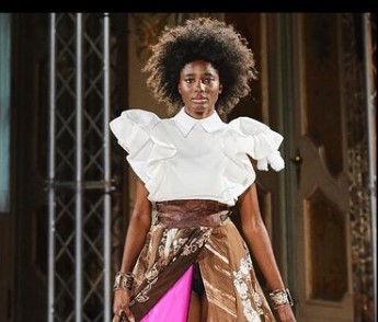 Batik Durian Lubuklinggau Ditampilkan di Milan Fashion Week SS 2022