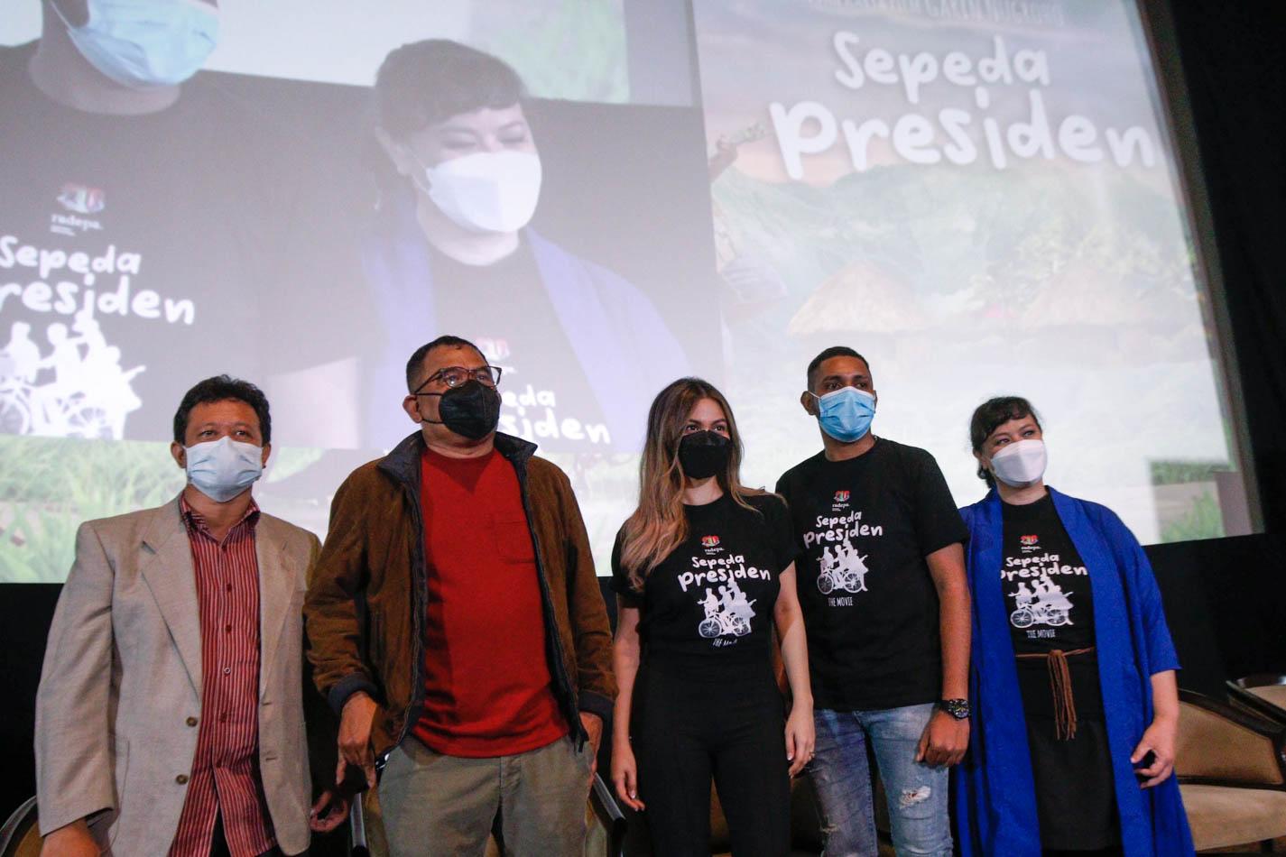 Film Sepeda Presiden Ceritakan tentang Kisah Anak Papua