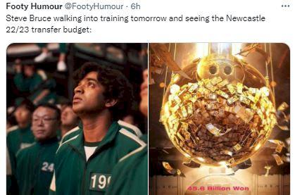 5 Meme Kocak Newcastle United yang Telanjur Kaya, Harga Pemain Berapapun Dibeli - Foto 3