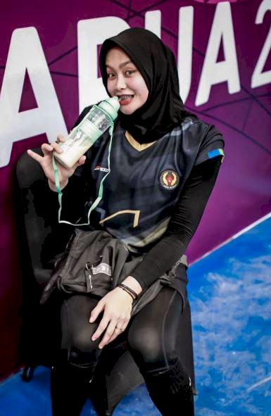 5 Potret Menawan Wilda Nurfadhilah, Pevoli Nasional yang Menangi 3 Emas PON - Foto 2