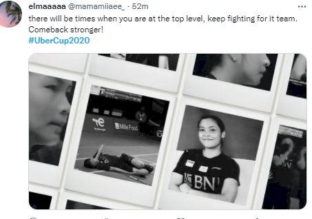 Ini Deretan Ucapan Terima Kasih Fans Indonesia untuk Tim Uber Cup, Tetap Bangga - Foto 3