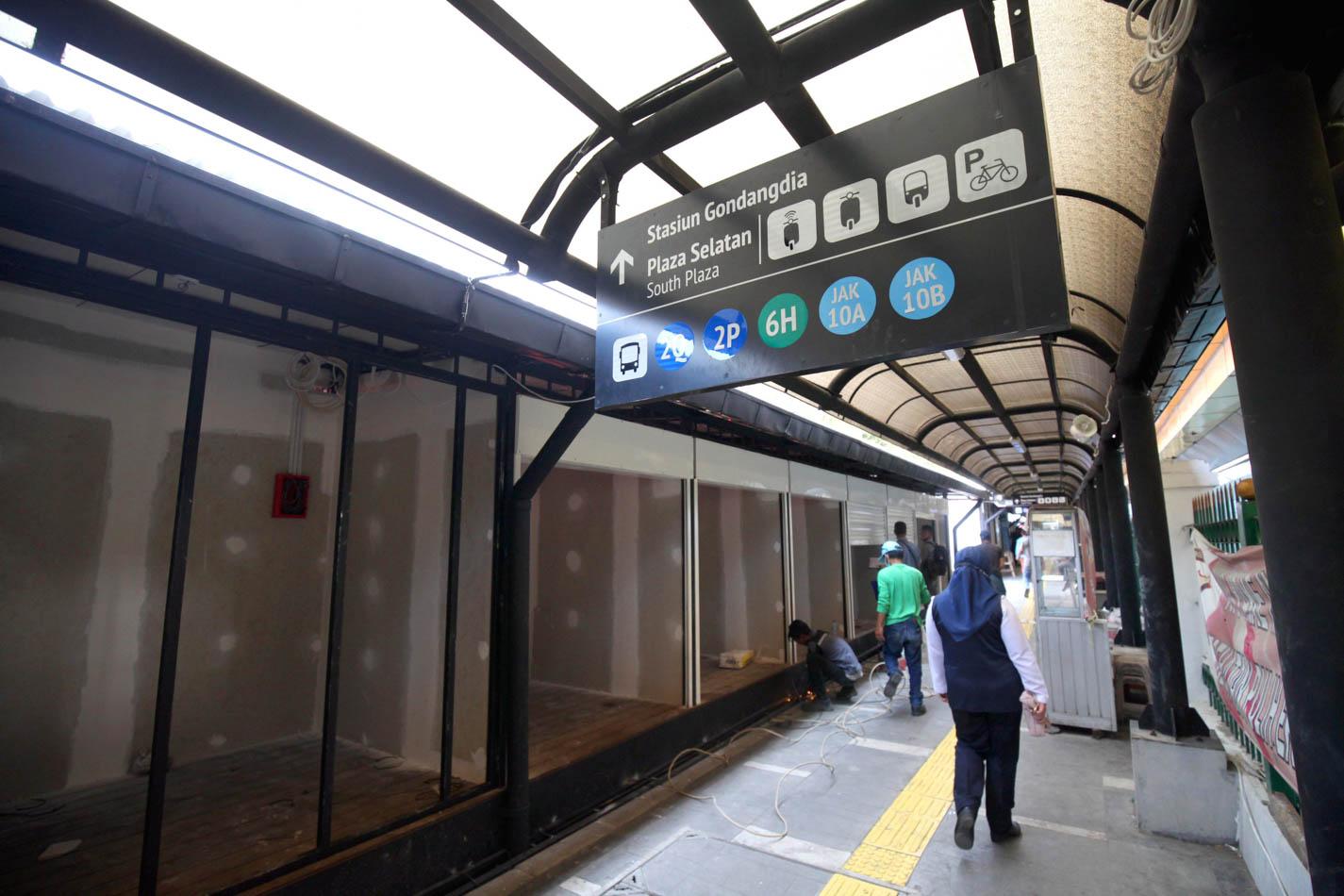 Ditata Rapi, Ruko UMKM Dipersiapkan di Stasiun Gondangdia