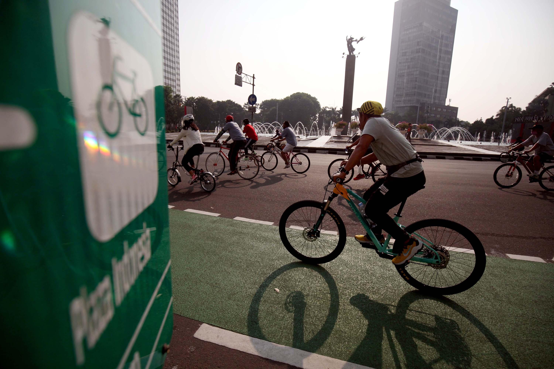 Polda Metro Izinkan Pesepeda Melintasi Jalan Umum Dengan Batasan Waktu Selama PPKM