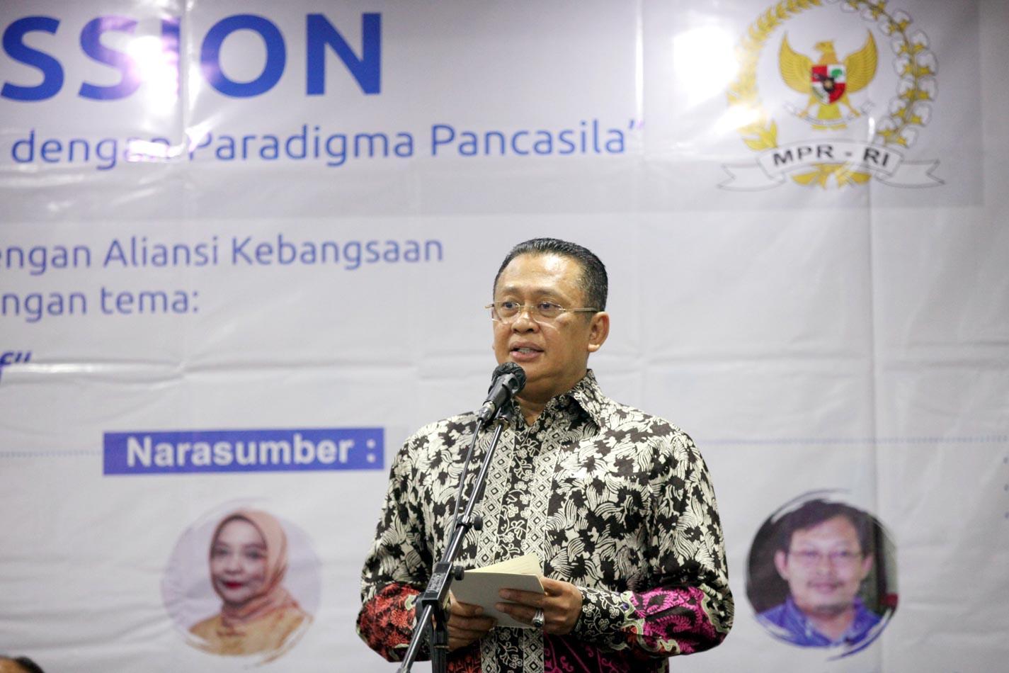 Focus Group Discussion Membahas MPR Lembaga Perwakilan Inklusif