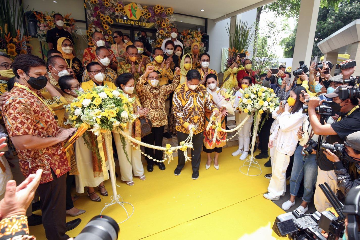 Syukuran HUT Ke-57 Partai Golkar, Airlangga Hartarto Resmikan Fasilitas Baru Kantor DPP
