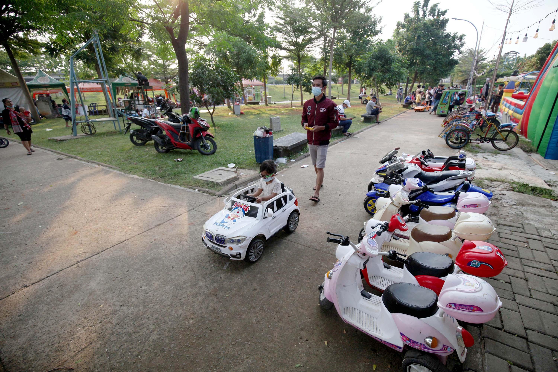 Jakarta Masuk PPKM Level Dua, Tempat Bermain Anak Diperbolehkan Kembali