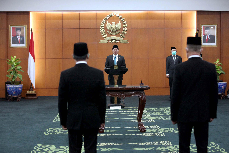 Bambang Soesatyo Pimpin PAW Anggota MPR Kelompok DPD