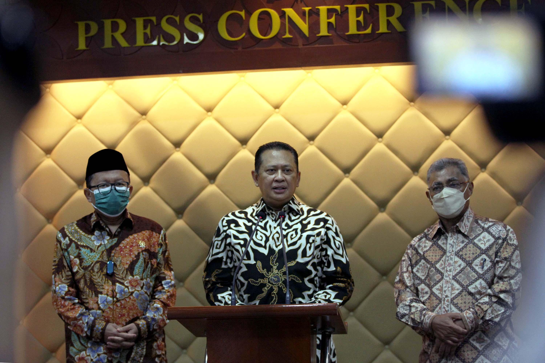 Ketua MPR Bambang Soesatyo Membuka Kongres Kebangsaan