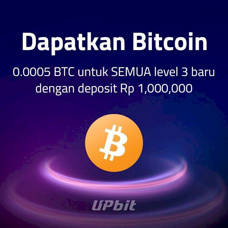 Trading Aset Digital Kian Ramai, Upbit Tebar Airdrop Total 2 BTC - Foto 1