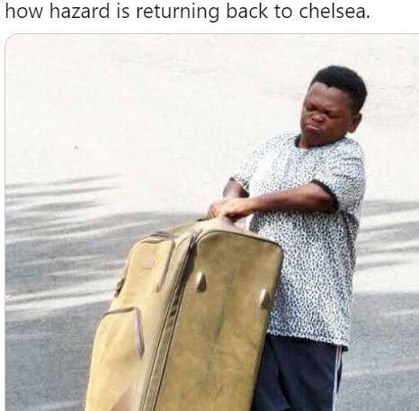 5 Meme Lucu Eden Hazard Ini Bikin Madridista Makin Kesel... - Foto 5