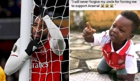 7 Meme Kocak Arsenal Tersingkir dari Liga Europa, Gooners Makin Kasihan - Foto 2
