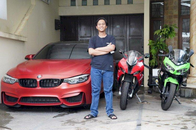 Cerita Doni Salmanan Ubah Nasibnya dari Tukang Parkir Jadi Kolektor Mobil - Motor Sport - Foto 2