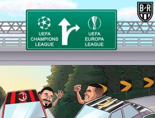 5 Meme Kocak Kemenangan Milan atas Juventus, Lucunya Kebangetan - Foto 3