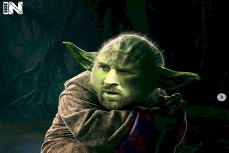 5 Editan Foto jika Pesepak Bola Dunia menjadi Star Wars, Messi jadi Yoda - Foto 1