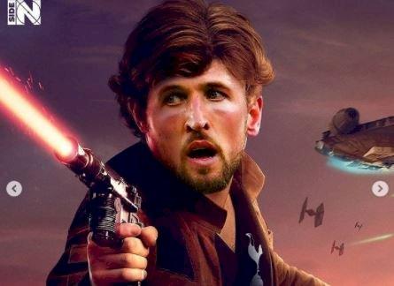 5 Editan Foto jika Pesepak Bola Dunia menjadi Star Wars, Messi jadi Yoda - Foto 4