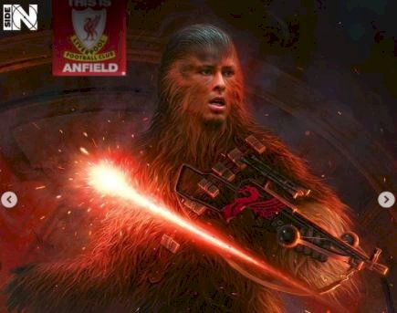 5 Editan Foto jika Pesepak Bola Dunia menjadi Star Wars, Messi jadi Yoda - Foto 5