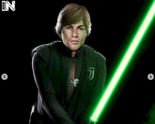 5 Editan Foto jika Pesepak Bola Dunia menjadi Star Wars, Messi jadi Yoda - Foto 3