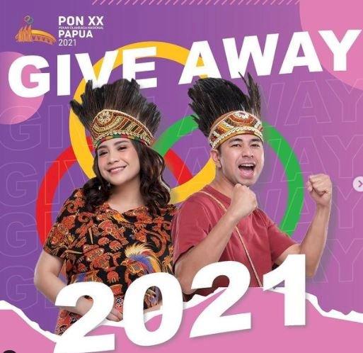 5 Potret Kece Raffi dan Nagita Slavina jadi Ikon PON XX Papua 2021 - Foto 5