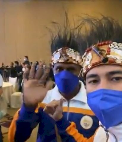 5 Potret Kece Raffi dan Nagita Slavina jadi Ikon PON XX Papua 2021 - Foto 3