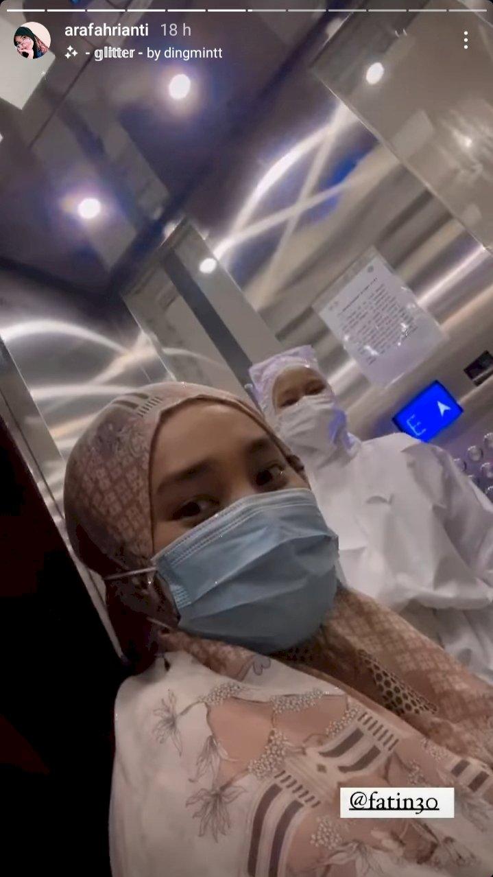 5 Potret Kondisi Terkini Fatin Shidqia Lubis, Karantina di Wisma Atlet karena Positif COVID-19 - Foto 2