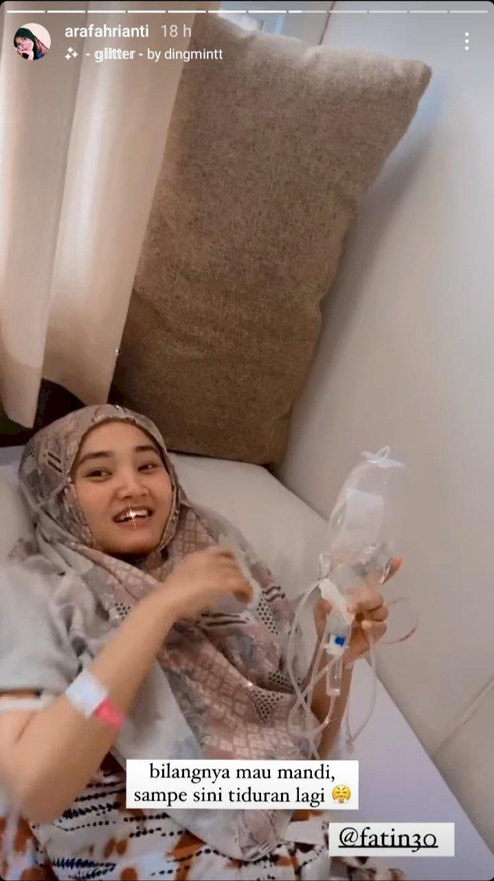 5 Potret Kondisi Terkini Fatin Shidqia Lubis, Karantina di Wisma Atlet karena Positif COVID-19 - Foto 4