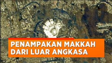 Astronot Asal Jepang Potret Makkah Dari Luar Angkasa