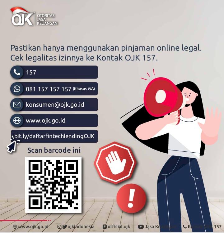 OJK: Penawaran Pinjol via SMS atau WA adalah Ilegal - Foto 2