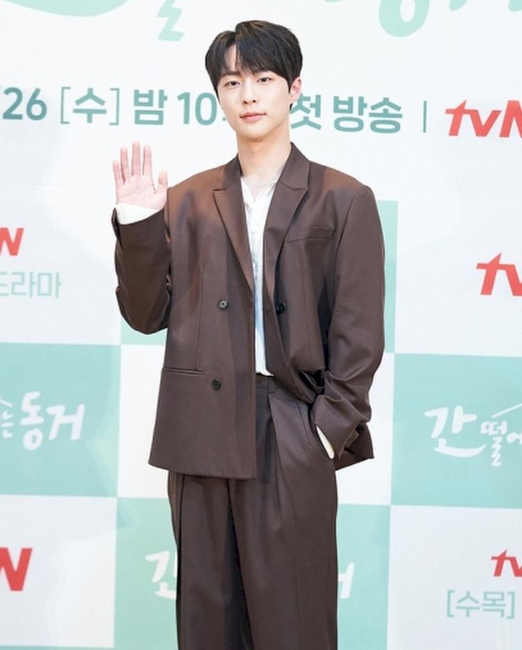 7 Potret Bae In-hyuk, Aktor Rookie yang Tengah Naik Daun - Foto 5