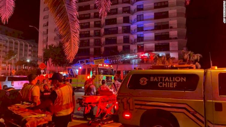 Gedung Apartemen 10 Lantai Lebih Ambruk di AS, Upaya Pencarian Korban Masih Berlangsung - Foto 1