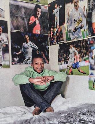 7 Potret Inspirasi Karier Mbappe, Idolakan Ronaldo Kini Sama-sama Bintang Lapangan - Foto 1