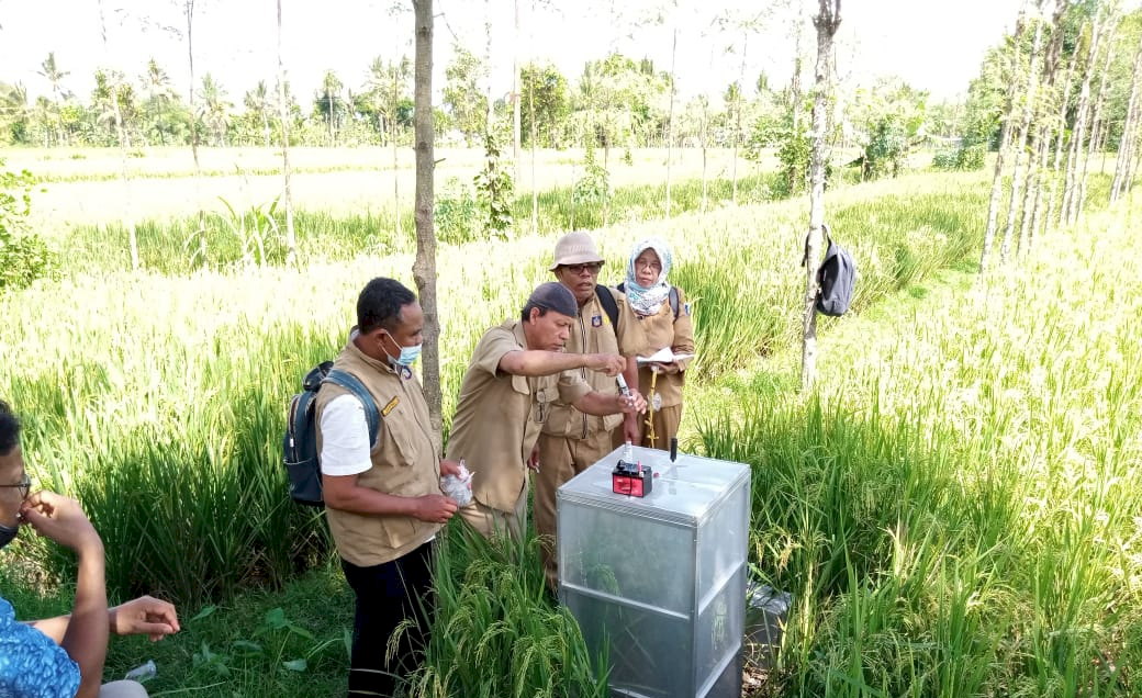 Lombok Tengah Dukung CSA dengan Pengambilan Sampel Gas Rumah Kaca