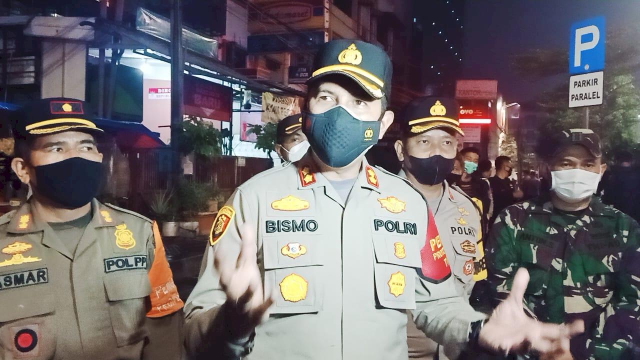 Jakarta Sedang Tidak Baik, Polres Jakbar Gencarkan Operasi Yustisi COVID-19