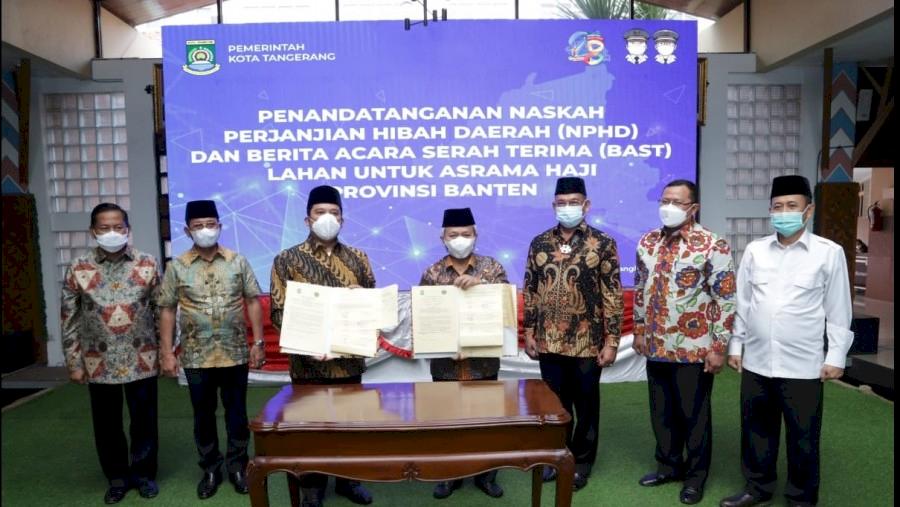 Alhamdulillah, Tahun 2022 Banten Akan Punya Asrama Haji Sendiri