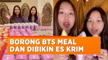 Netizen Mewek Lihat Konten Es Krim Rasa BTS Meal Ala Sisca Kohl