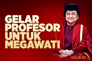 Gelar Profesor untuk Megawati