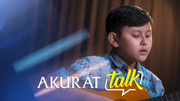 Berawal dari Cover Lagu, Musisi Cilik Vin Batubara Siap Gebrak Industri Musik | Akurat Talk