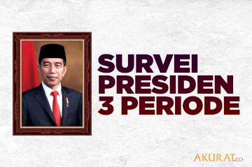Survei Presiden 3 Periode