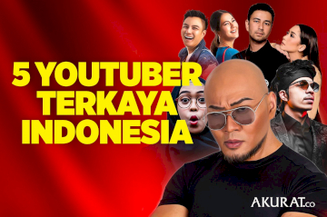 5 Youtuber Terkaya Indonesia