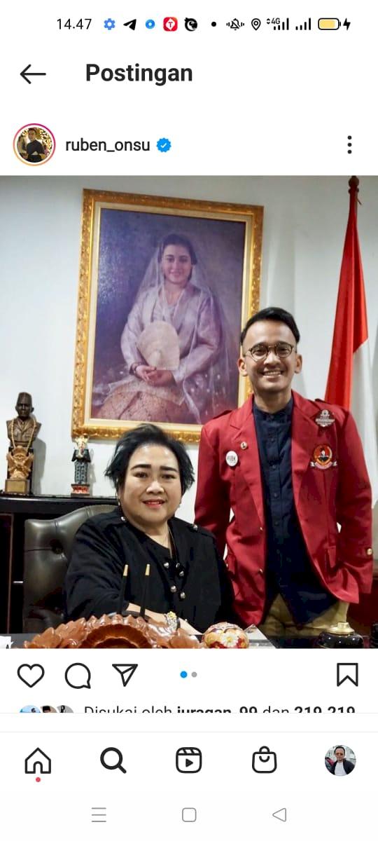 Rachmawati Soekarnoputri Meninggal Dunia, Ruben Onsu: Selamat Jalan Mbu - Foto 1