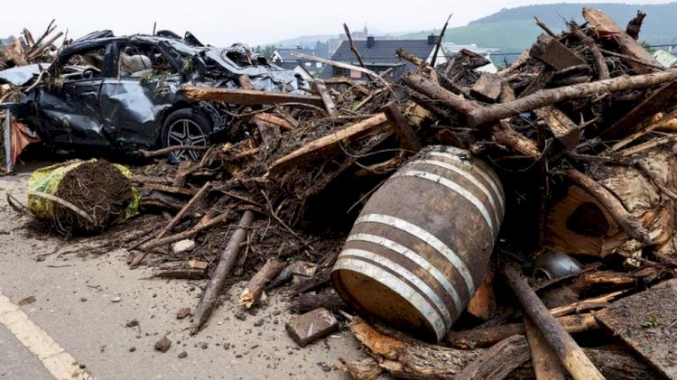 Banjir Eropa Mulai Surut, 170 Orang Tewas dan Banyak yang Belum Ditemukan - Foto 1