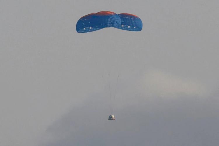 Jeff Bezos Berhasil Terbang ke Tepi Antariksa, Era Baru Wisata Luar Angkasa Semakin Dekat - Foto 1