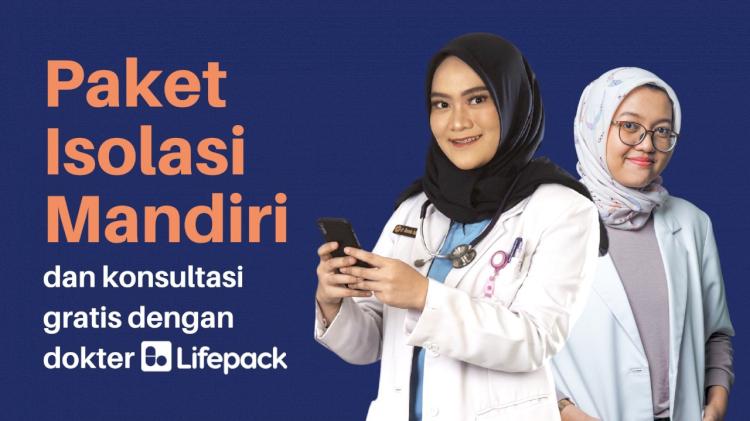 Jangan Khawatir Isoman di Rumah, Telemedicine Berikan Paket Perawatan - Foto 1