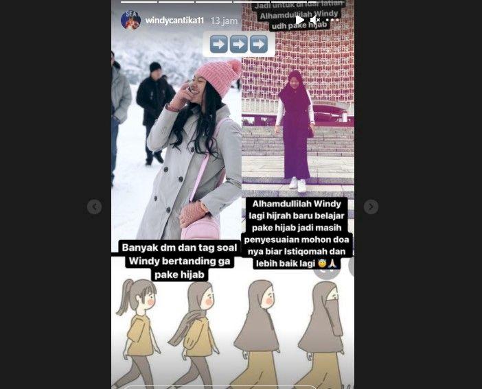 Dikritik Karena Tidak Pakai Hijab Saat Bertanding, Windy Cantika: Masih Penyesuaian - Foto 1