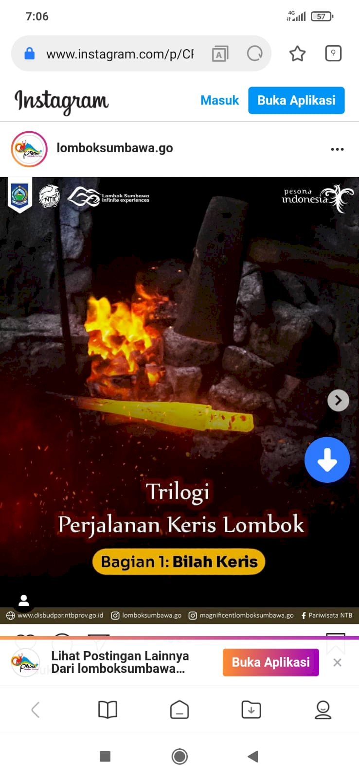 Pertahankan Warisan Budaya, Pemprov NTB Gagas Trilogi Perjalanan Keris Lombok - Foto 1