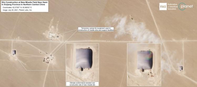 Tandingi AS dan Rusia, China Ketahuan Bangun 110 Fasilitas Rudal Nuklir di Gurun Terpencil - Foto 2
