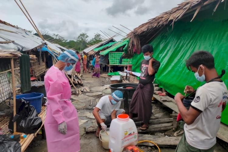 COVID dan Kudeta Picu Krisis Kelaparan di Antara Pengungsi Myanmar, Warga Hanya Bisa Makan Nasi Tanpa Lauk - Foto 1
