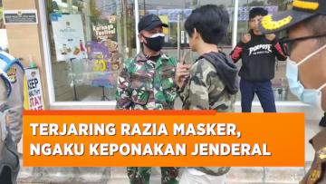 Terjaring Razia Masker, Pemuda di Ciputat Ini Malah Marah dan Ngaku Anak Jenderal