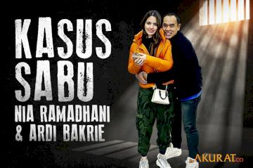 Kasus Sabu Nia Ramadhani dan Ardi Bakrie