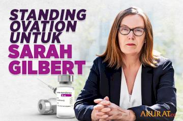 Standing Ovation untuk Sarah Gilbert