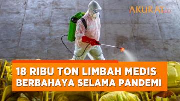 Indonesia Hasilkan 18 Ribu Ton Limbah Medis Berbahaya Selama Pandemi Covid-19